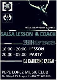 SALSA PARTY & COACH
