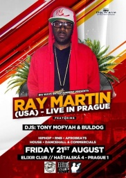 RAY MARTIN LIVE IN PRAGUE