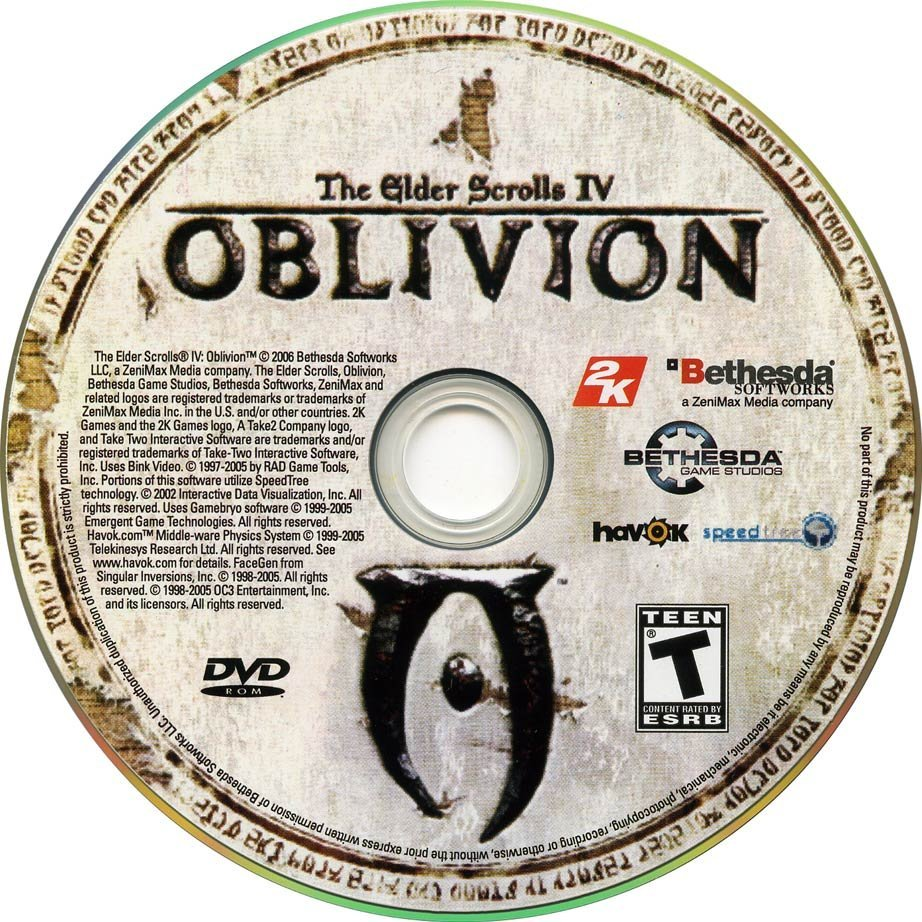 Золотое Издание The Elder Scrolls IV: Oblivion (Rus/2007/1C) .