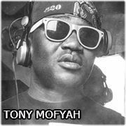 DJ TONY MOFYAH (AKCE: RAY MARTIN LIVE, HIP HOP CHURCH)